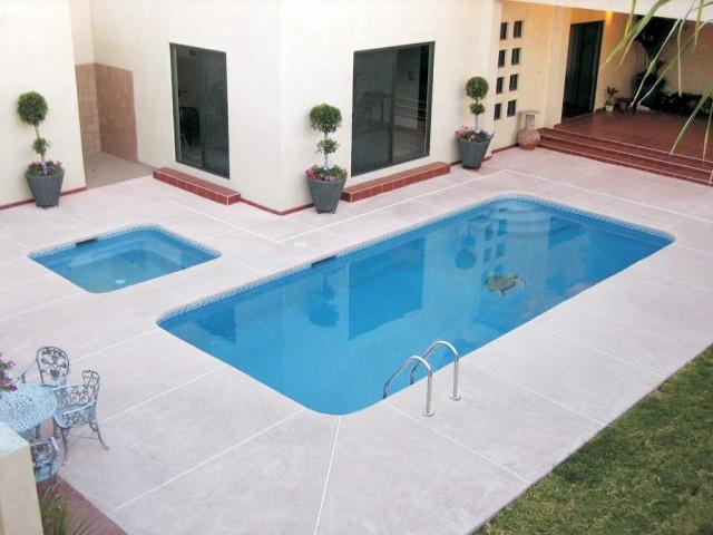 Modelo de piscina 8